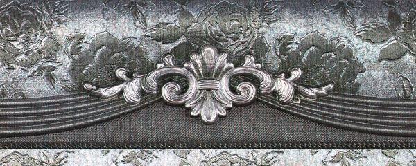 Бордюр Rocersa Cen. Silver 8х20 bqlzr 8 inch hairline finish silver security door slide flush latch bolt