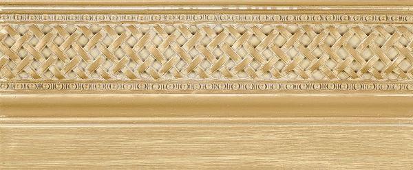 Бордюр Rocersa Zocalo Azahara Oro 14х31,6 бордюр almera ceramica orleans zocalo tarragone gold aqua marine 15x15