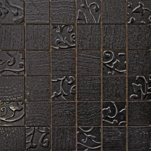 Мозаика Romario Mosaico Mix Black 30х30 life mix art black 32 260cm