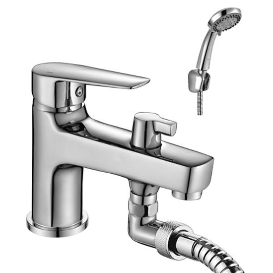 все цены на Смеситель Rossinka S35-38 для ванны онлайн