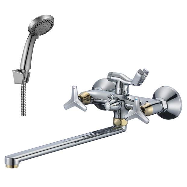 Смеситель Rossinka RS41-84 для ванны универсальный смеситель для ванны rossinka g g02 84 универсальный