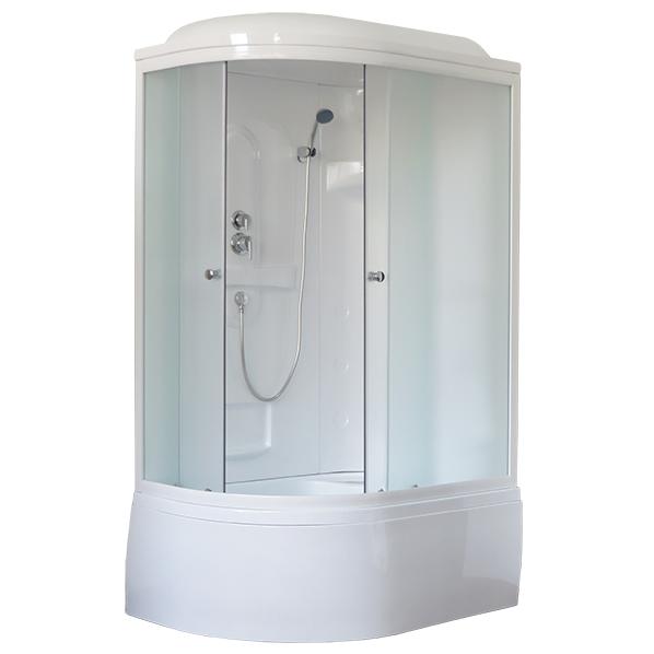 Душевая кабина Royal bath 8120BК1-T 120x80x217 R прозрачное