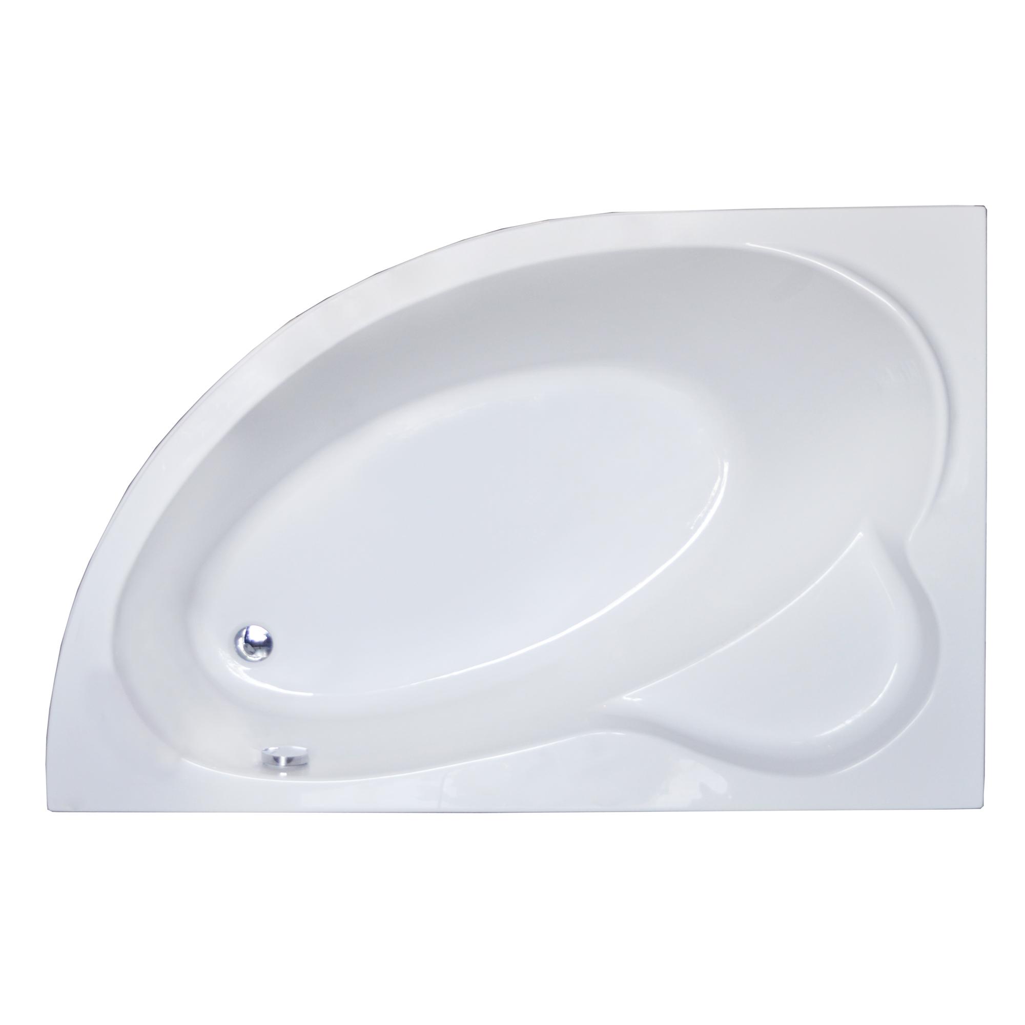 Акриловая ванна Royal bath Alpine RB819101 160х100 L панель фронтальная к ванне royal bath alpine 170 rb819102p