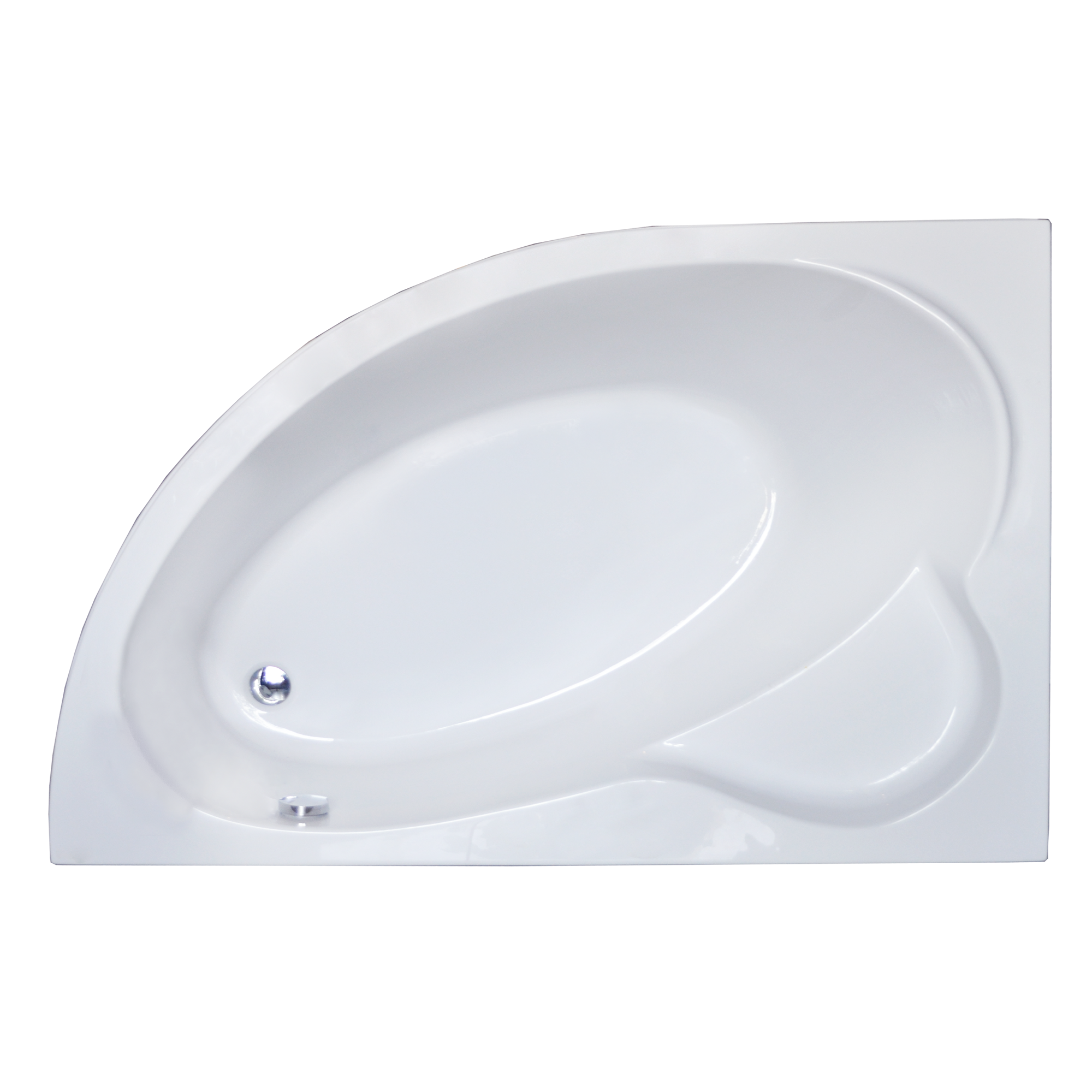 Акриловая ванна Royal bath Alpine RB819102 170х100 L панель фронтальная к ванне royal bath alpine 170 rb819102p