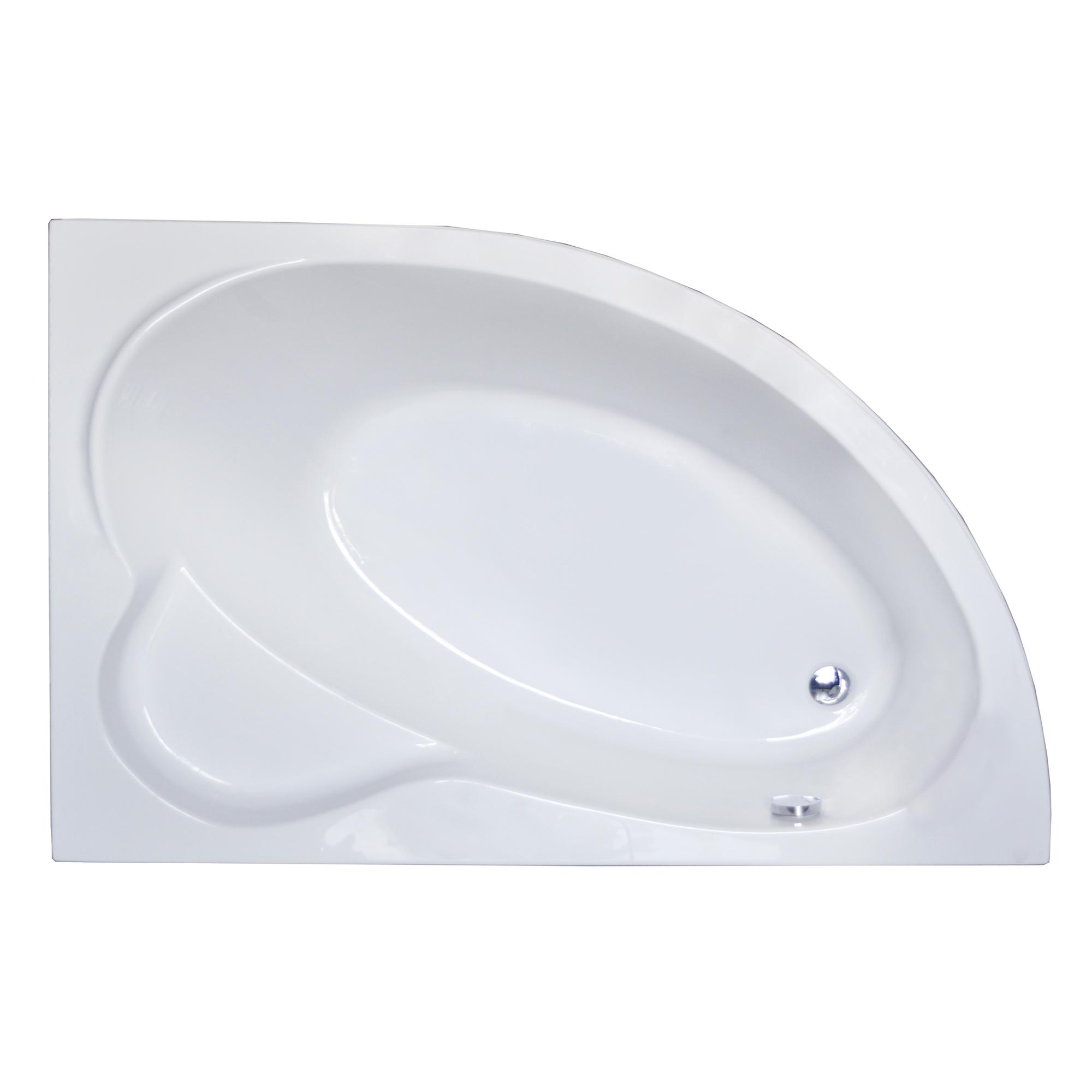 Акриловая ванна Royal bath Alpine RB819103 140х95 R панель фронтальная к ванне royal bath alpine 170 rb819102p