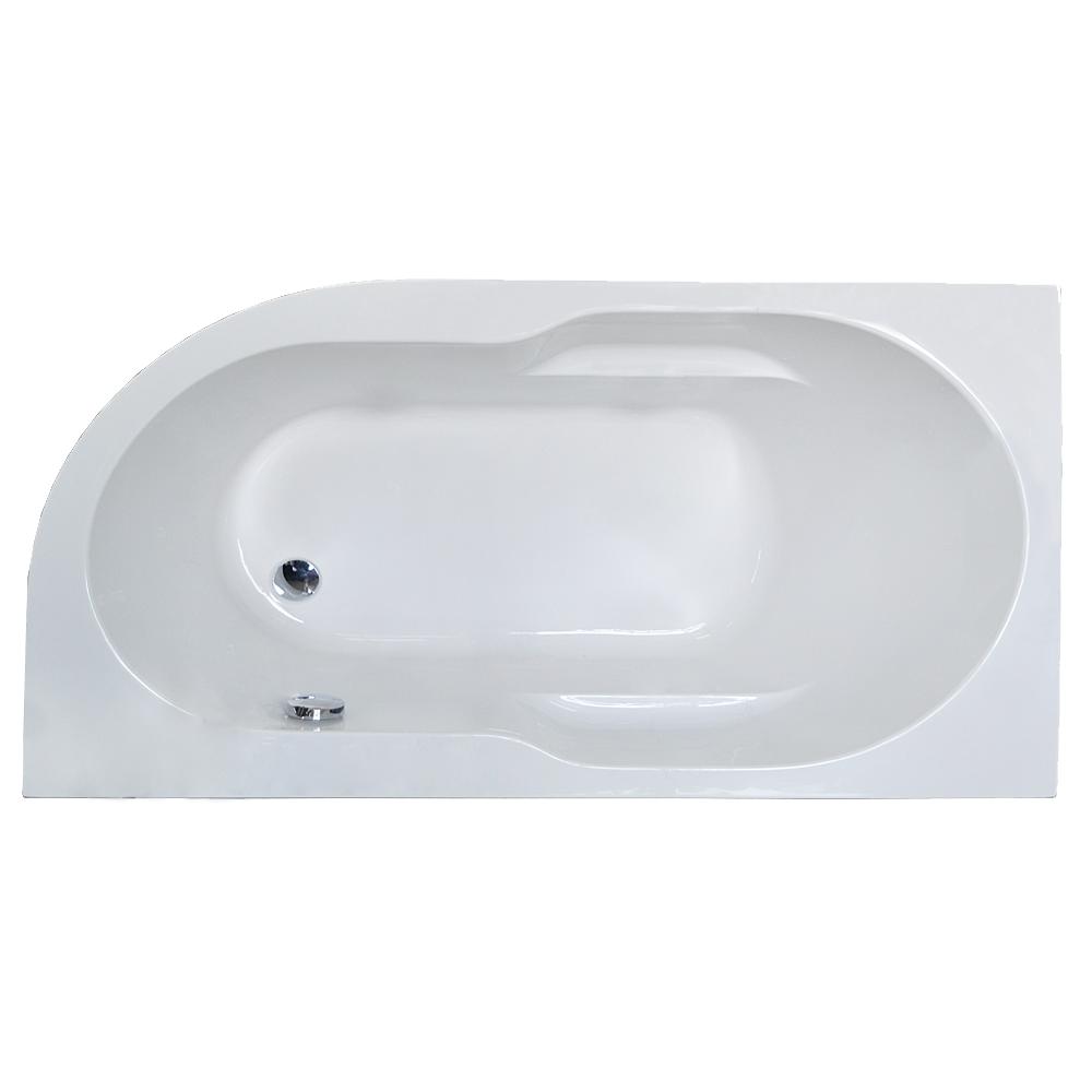 Акриловая ванна Royal bath Azur RB614200 140х80 L каркас сварной к ванне royal bath vienna 140 rb953200k