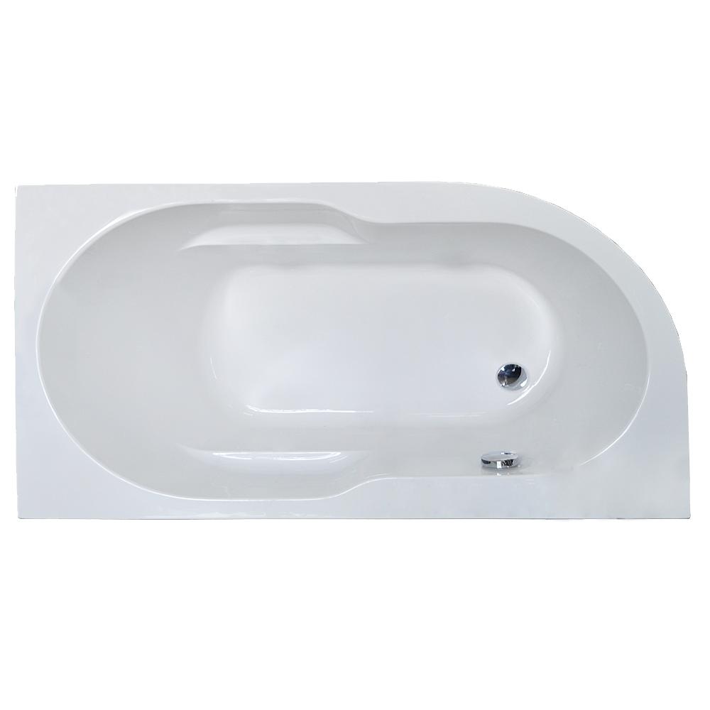 Акриловая ванна Royal bath Azur RB614200 140х80 R каркас сварной к ванне royal bath vienna 140 rb953200k