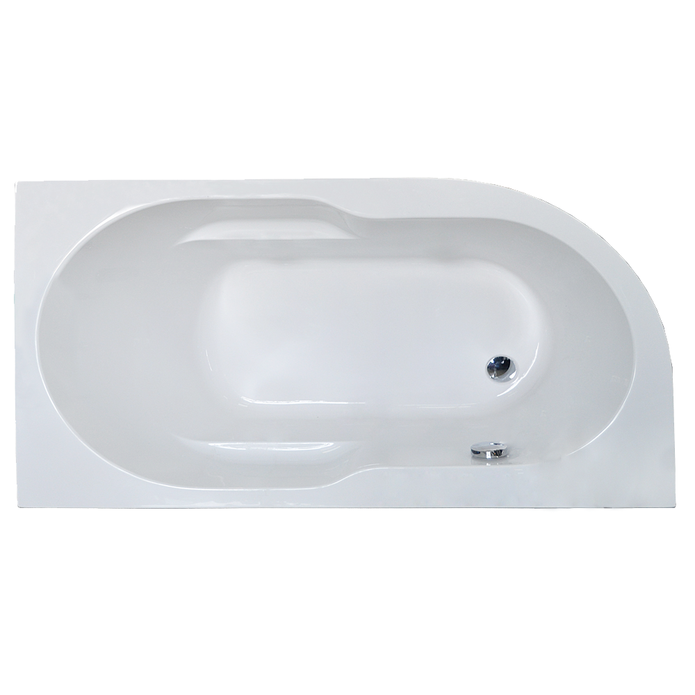 Акриловая ванна Royal bath Azur RB614201 150х80 R ванна акриловая bach фэнтази 150 sys4а