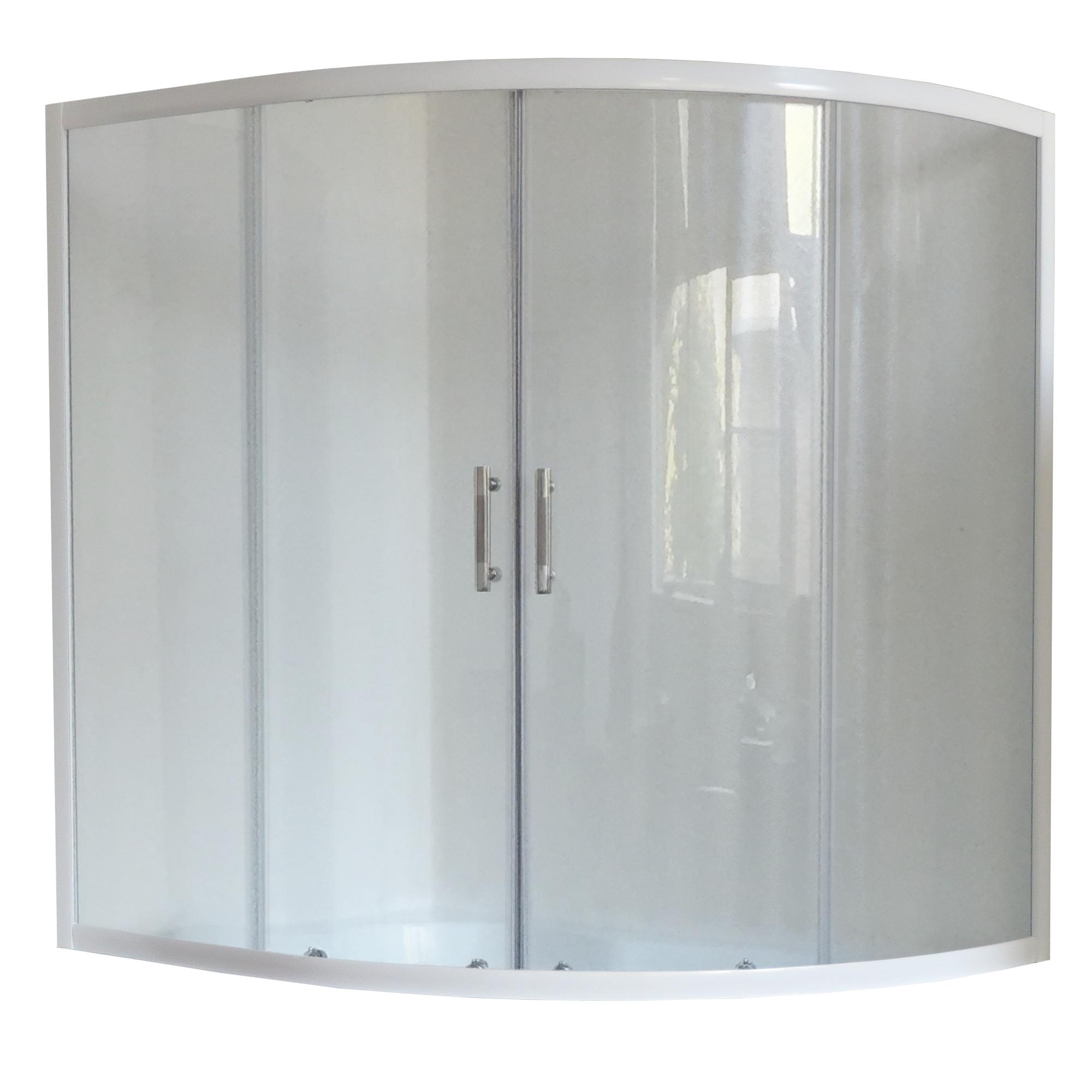 Шторка для ванны Royal bath 150ALP-T 150х100x150 прозрачная душевая шторка на ванну royal bath alpine стекло прозрачное rb160alp t