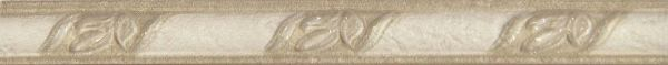 Бордюр Saloni List. Poseidon Crema 3х31 бордюр navarti daino royal versalles crema 5 5х33