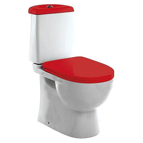 Унитаз компакт Sanita Luxe Best Luxe (red) унитаз компакт sanita luxe classic luxe сиденье термопласт cscslcc01060611