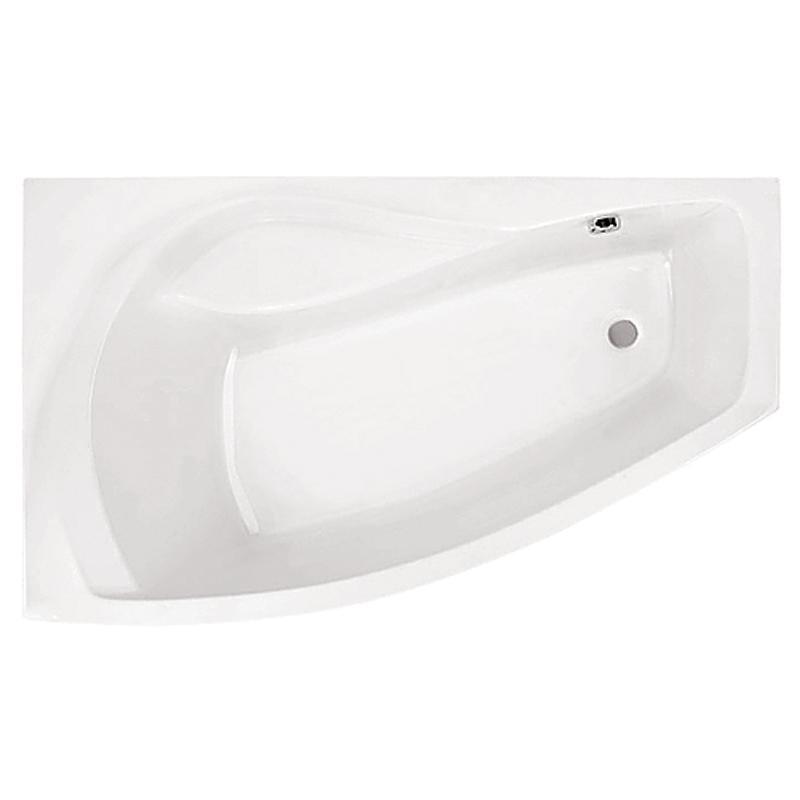 Акриловая ванна Santek Майорка 150х90 L без гидромассажа santek рукомойник santek форум wh110542 l