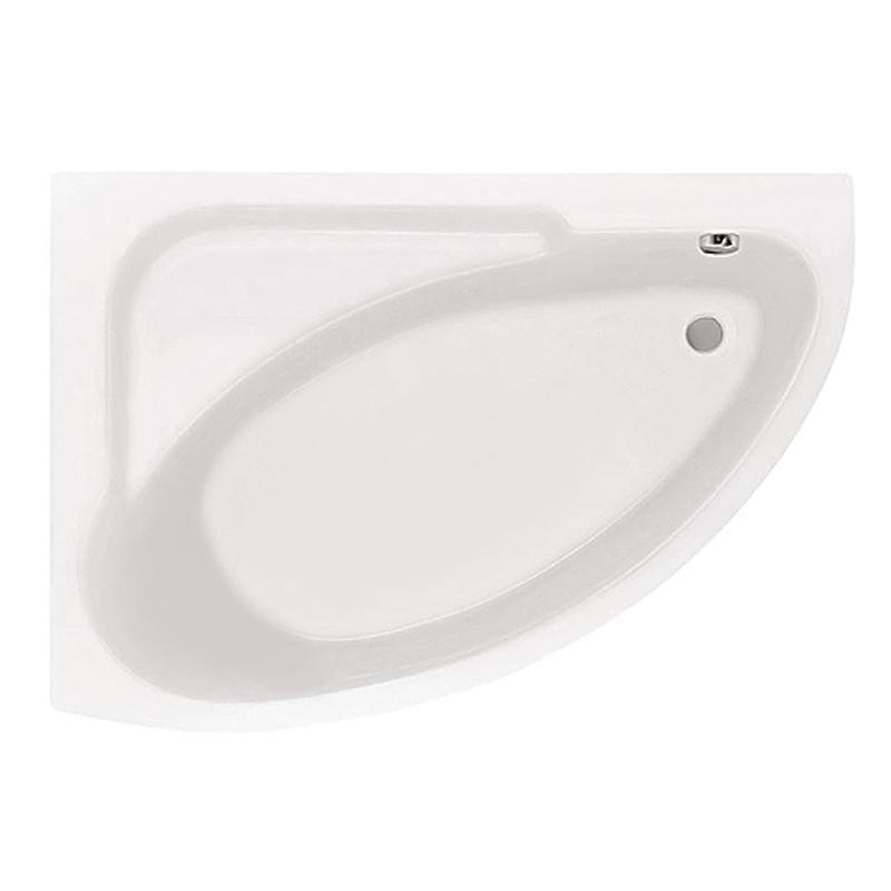 Акриловая ванна Santek Гоа 150х100 L без гидромассажа santek рукомойник santek форум wh110542 l