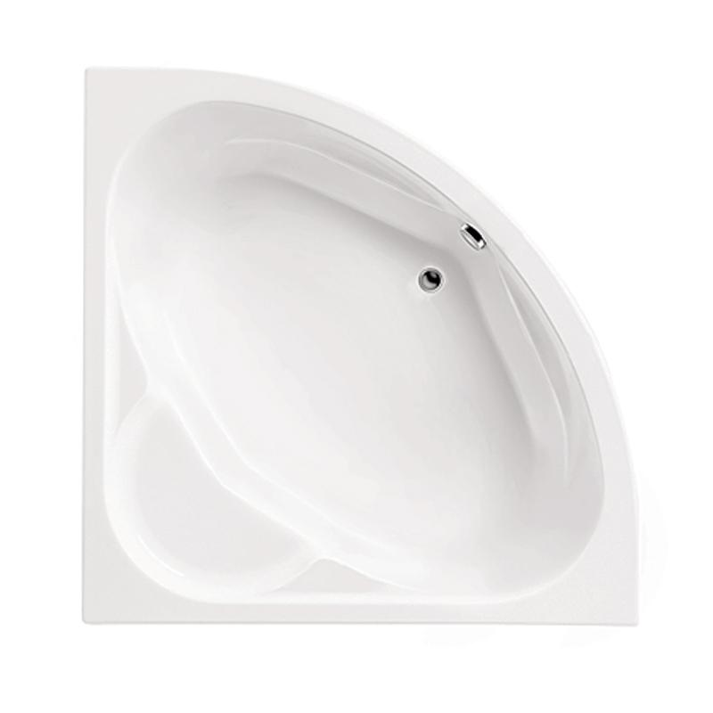 Акриловая ванна Santek Карибы 140x140 без гидромассажа santek карибы аэромассажная 140x140
