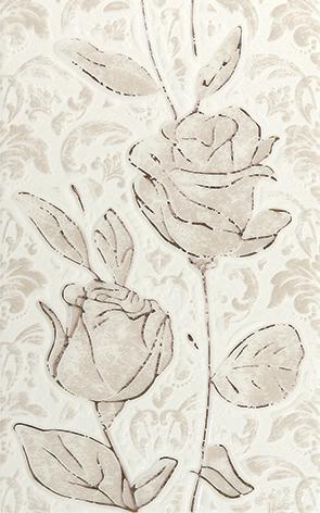 Fiora white Декор 01 25x40 плитка декор 250х400х8 мм релакс зеленый 3 494331