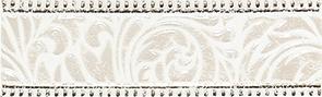 Fiora white Бордюр 01 7,5x25 плитка бордюр стеклянный 600х20х8 мм эрантис золотой