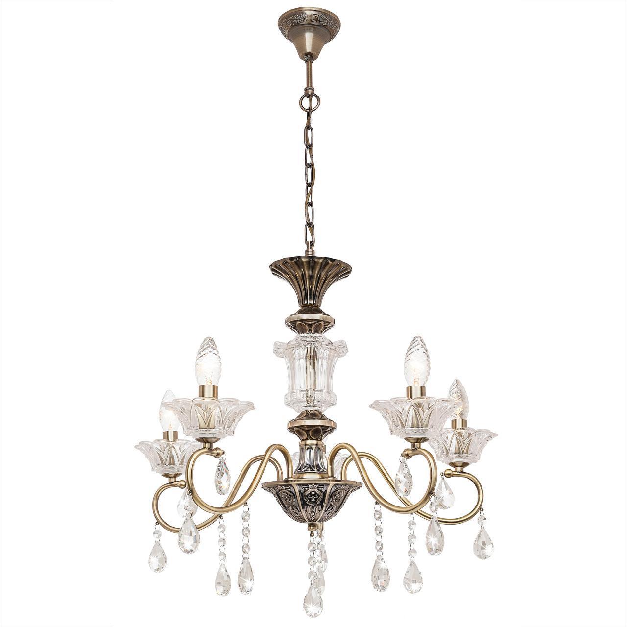 цена Люстра Silver Light Bernardet 518.53.5 подвесная в интернет-магазинах