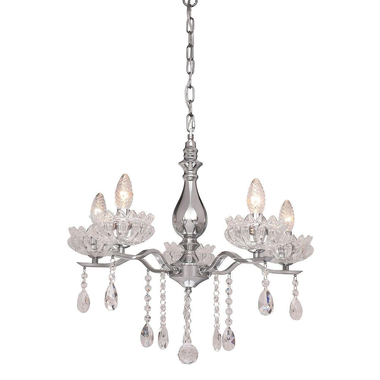 Люстра Silver Light Venere 724.54.5 подвесная silver light люстра подвесная silver light cерия venere хром 8xе14x60w