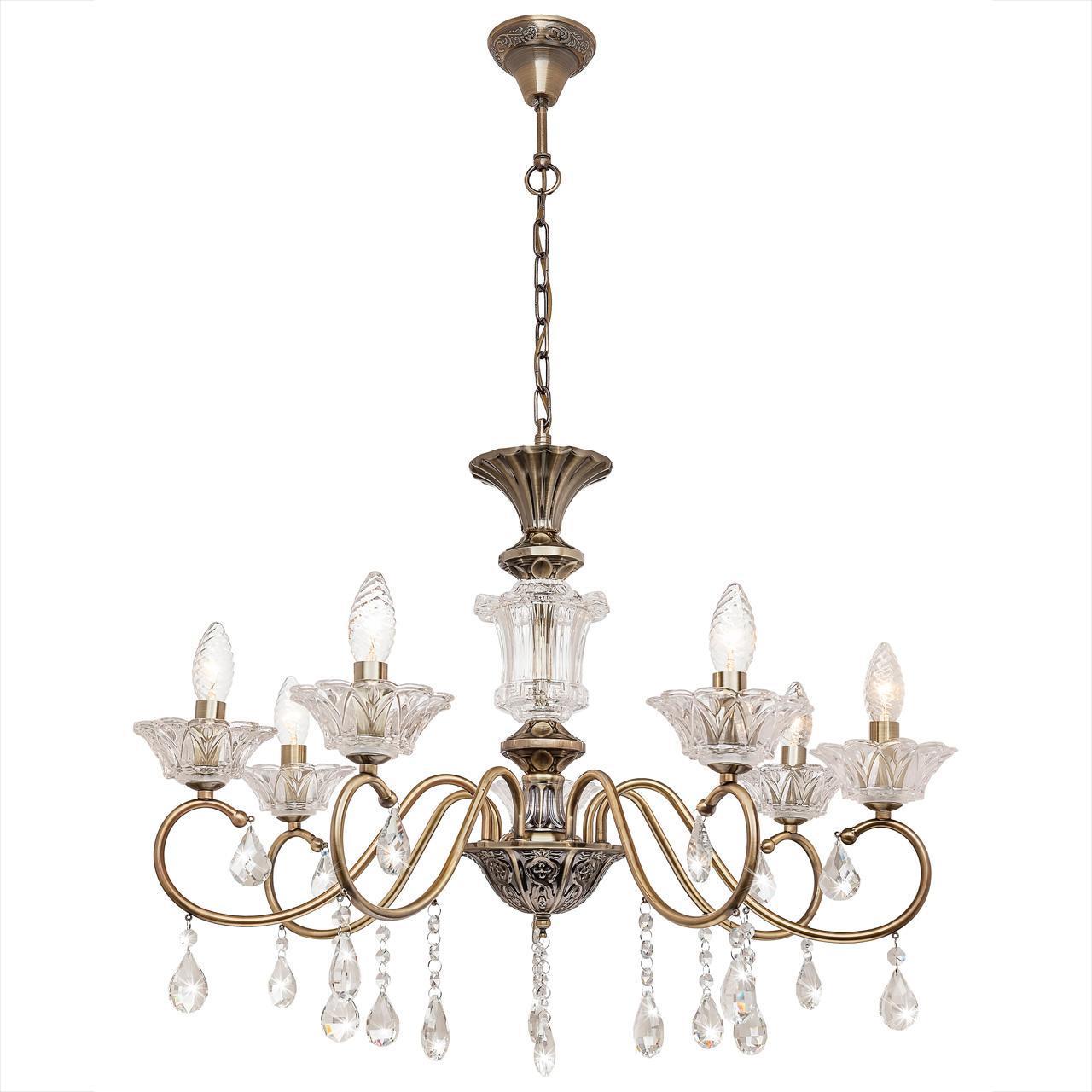 цена Люстра Silver Light Bernardet 518.53.7 подвесная в интернет-магазинах