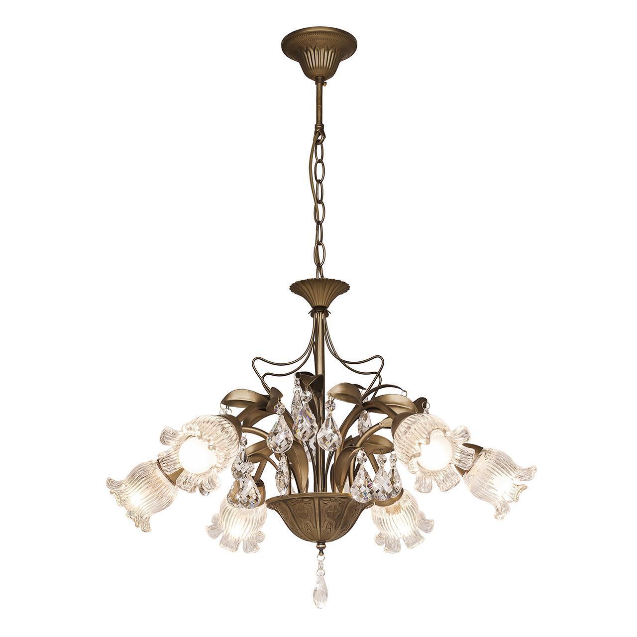Люстра Silver Light Semiramida 517.53.6 подвесная потолочная люстра silver light серия semiramida цвет бронза 6xe14x60w 517 53 6