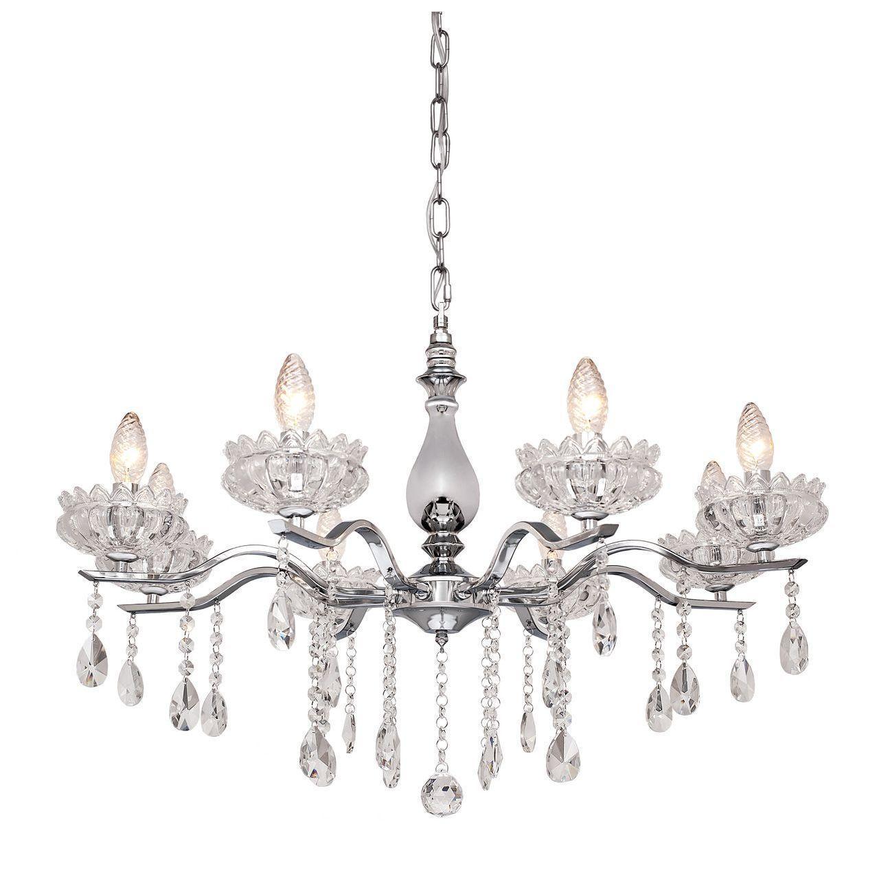 Люстра Silver Light Venere 724.54.8 подвесная silver light люстра подвесная silver light cерия venere хром 8xе14x60w