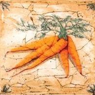 Гурман Декор морковь (D-496) 16,5х16,5 декор сокол уральские самоцветы розовый 20x33