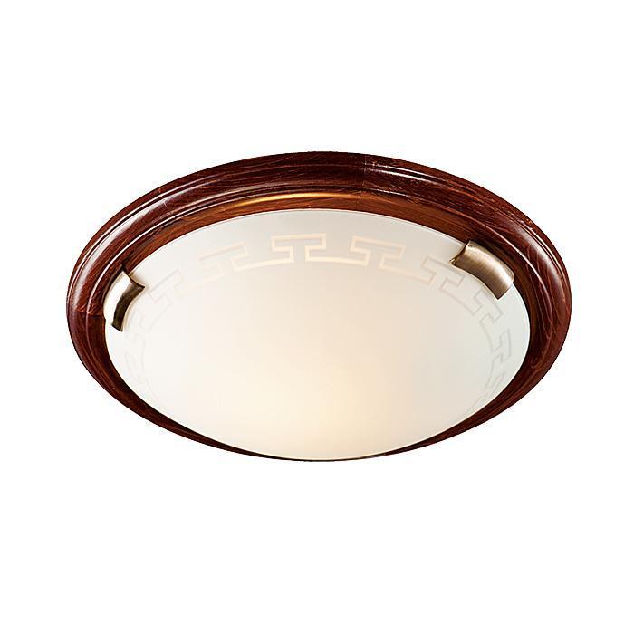 Потолочный светильник Sonex Greca Wood 160/K sonex 060 fb06 051 т орех бронза бра e27 100w 220v greca wood