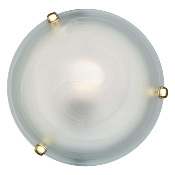 Настенно-потолочный светильник Sonex Duna 153/K золото настенно потолочный светильник sonex traube 104 k