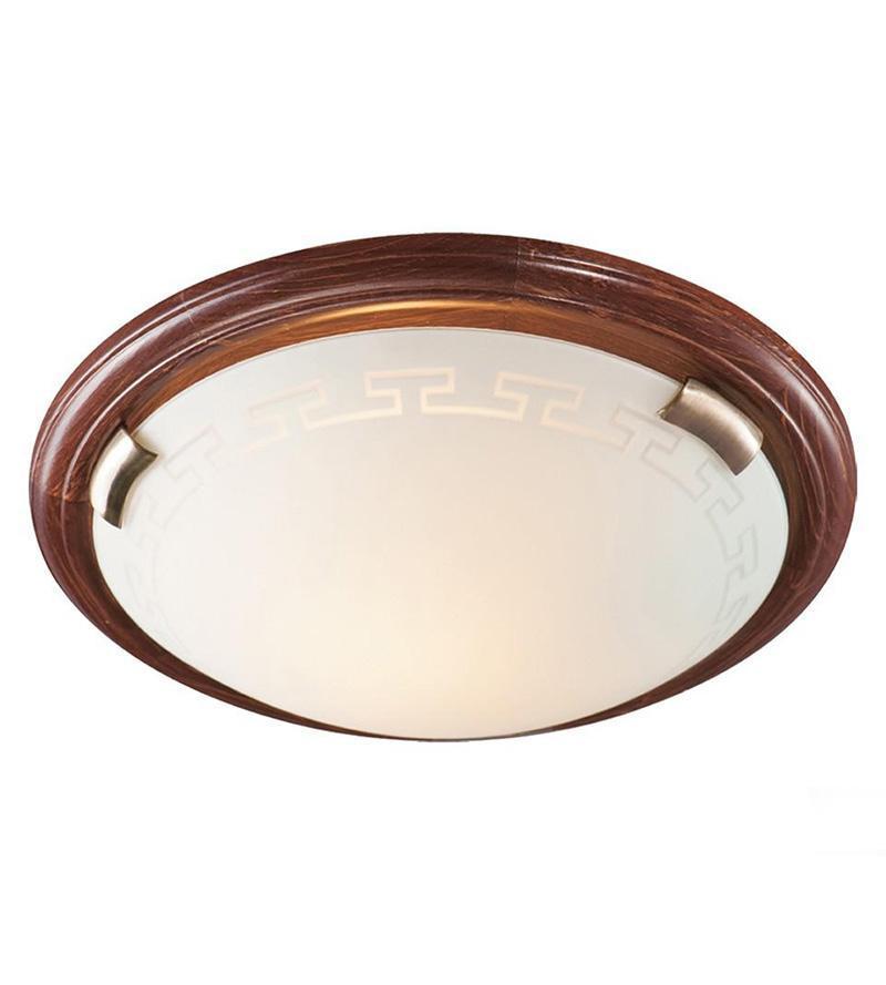 Потолочный светильник Sonex Greca Wood 360 sonex 060 fb06 051 т орех бронза бра e27 100w 220v greca wood
