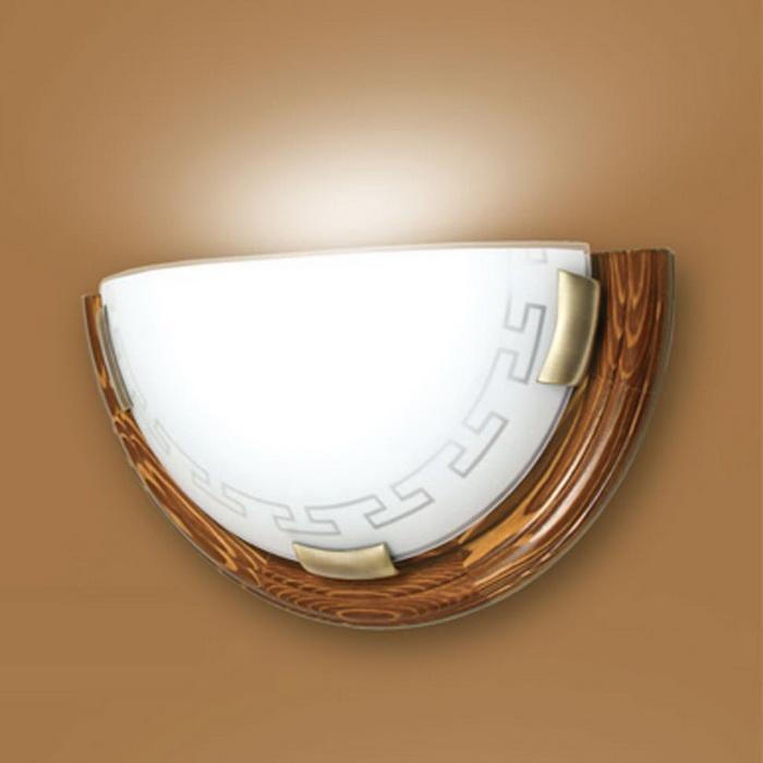 Настенный светильник Sonex Greca 060 sonex 060 fb06 051 т орех бронза бра e27 100w 220v greca wood