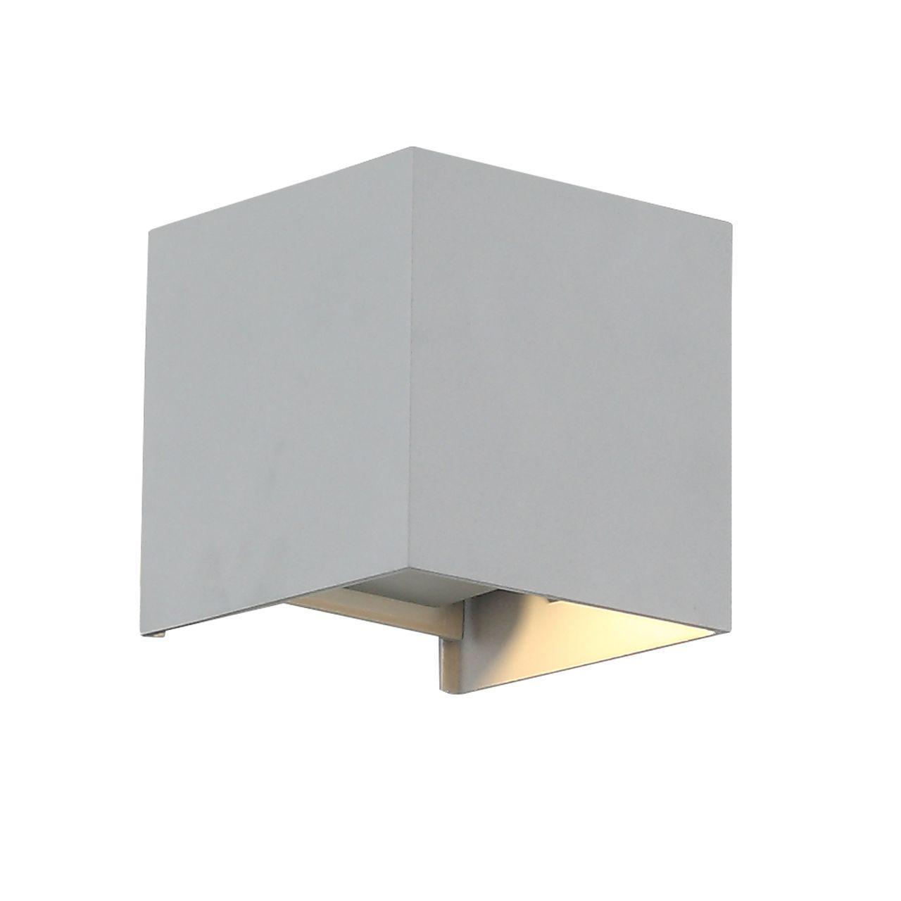 Уличный настенный светодиодный светильник ST Luce Staffa SL560.701.02 foppapedretti base auto con staffa 9700372300