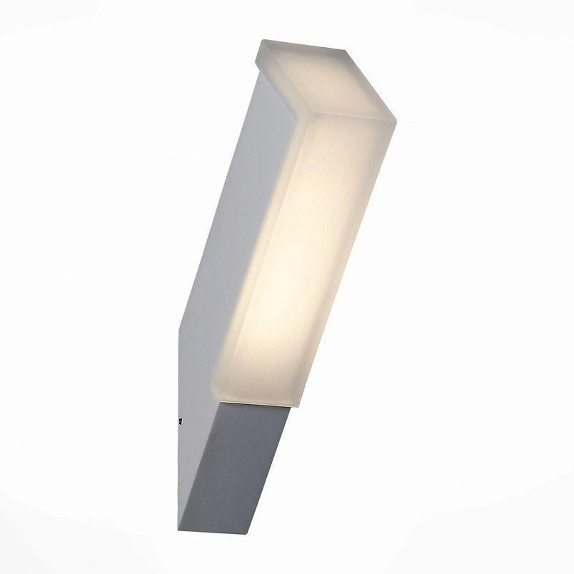 Уличный настенный светодиодный светильник ST Luce Posto SL096.511.02