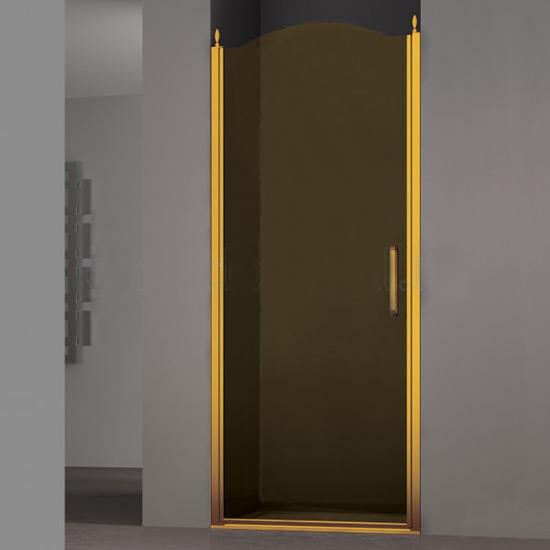 Душевая дверь Sturm Schick 80x195 левая стекло тонированное 2pcs pairing left