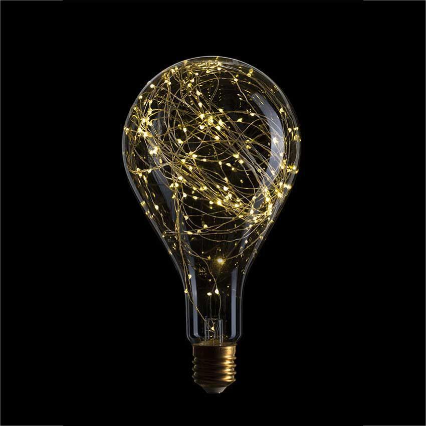 Лампа светодиодная филаментная E40 4,5W 2600K прозрачная 057-028 лампа металогалогенная 04129 e40 400w 4000к труба прозрачная mh to 400 4000 e40