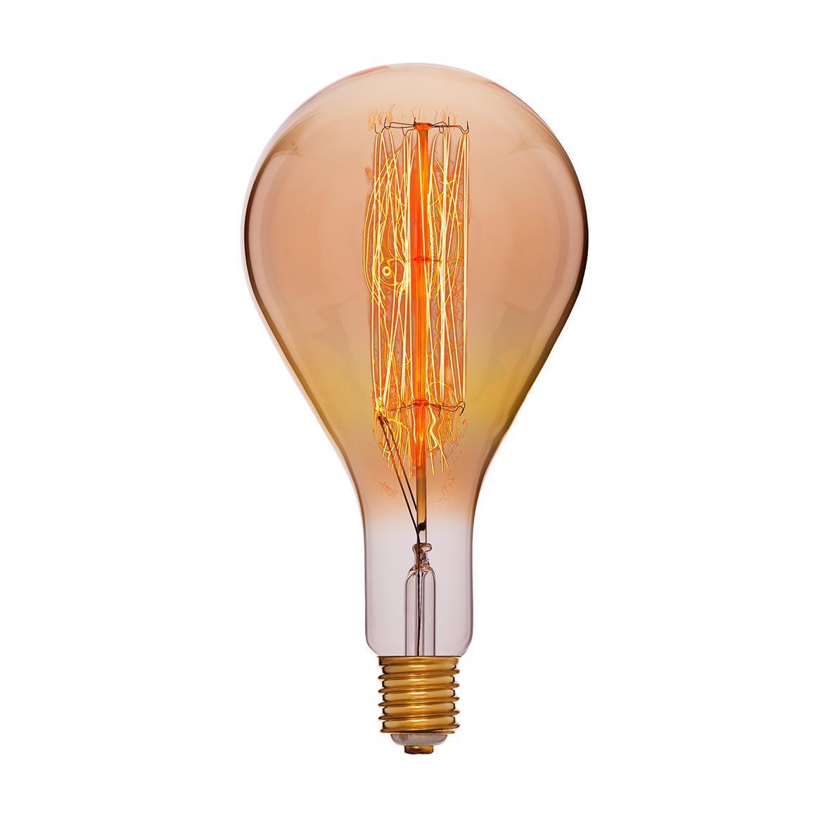Лампа накаливания E40 95W прозрачная 054-119 лампа металогалогенная 04129 e40 400w 4000к труба прозрачная mh to 400 4000 e40