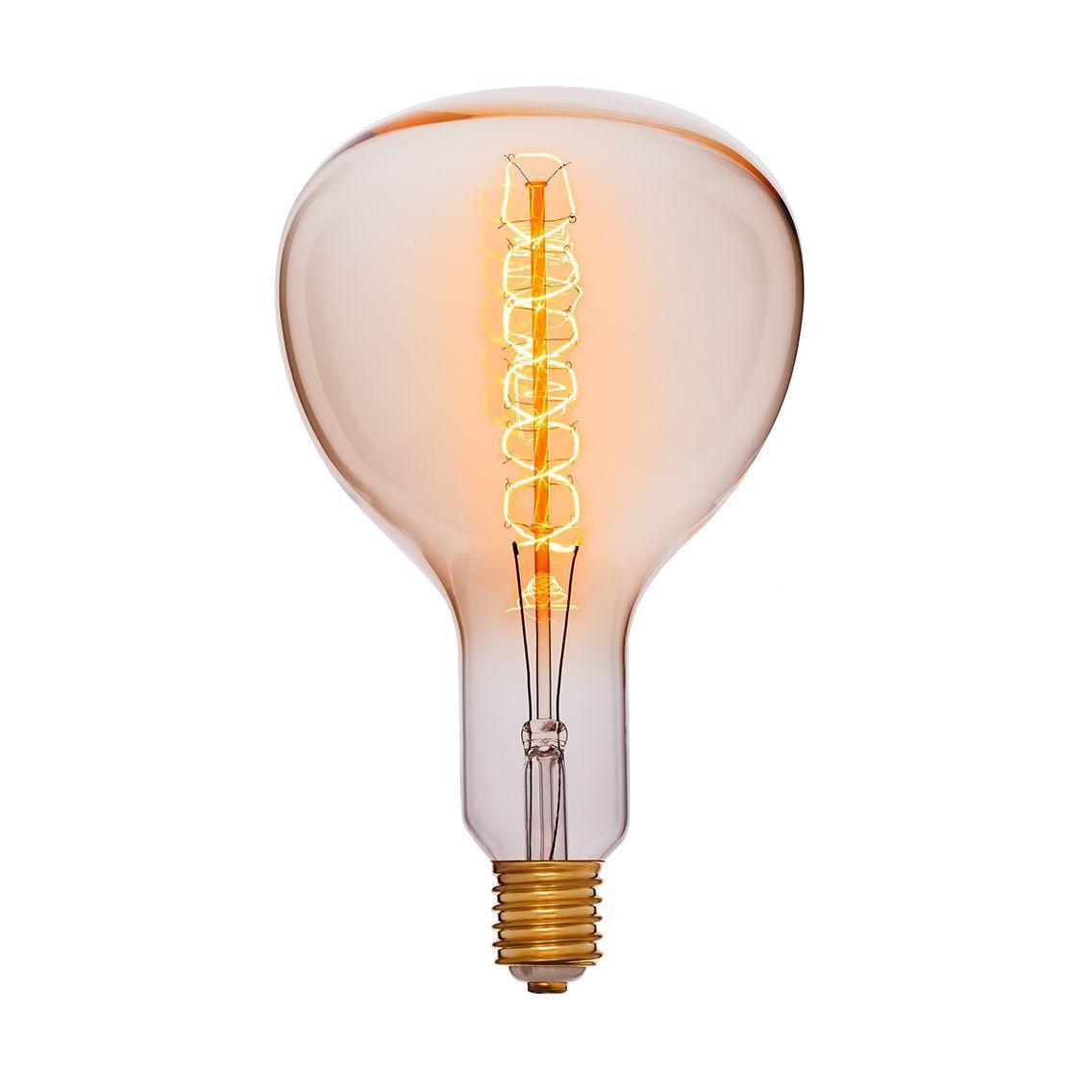 Лампа накаливания E40 95W прозрачная 053-839 лампа металогалогенная 04129 e40 400w 4000к труба прозрачная mh to 400 4000 e40