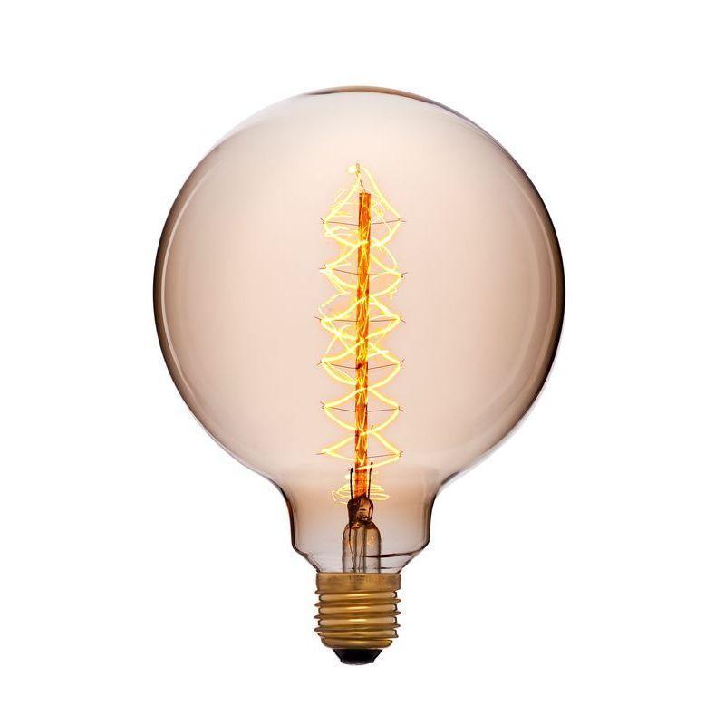 Лампа накаливания E27 40W золотой 052-030 sun lumen лампа накаливания sun lumen большой шар прозрачный e27 40w 2200к 052 030
