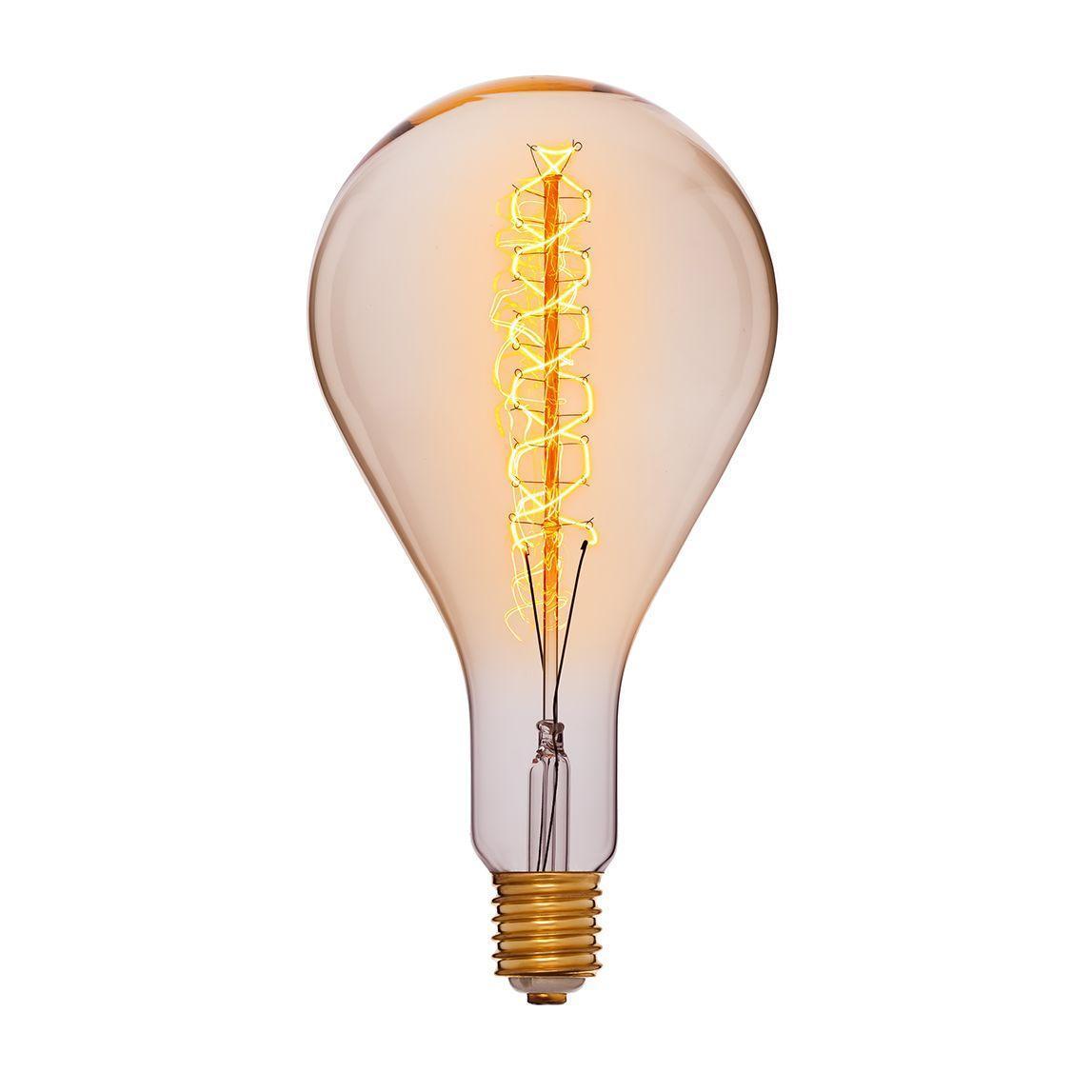 Лампа накаливания E40 95W прозрачная 053-716 лампа металогалогенная 04129 e40 400w 4000к труба прозрачная mh to 400 4000 e40