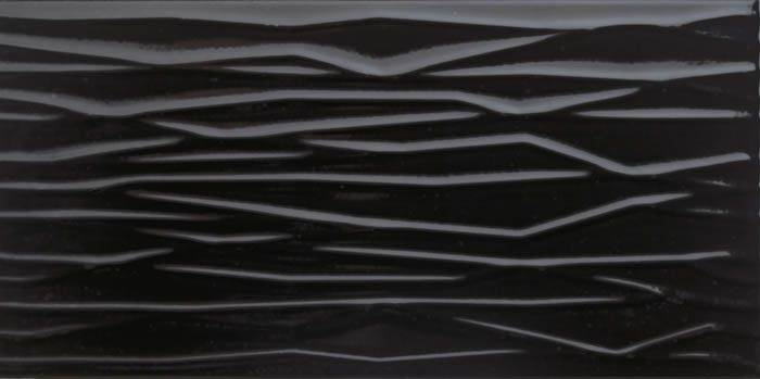 Настенная плитка Tecniceramica Sky Line Negro Brillo 25х50 плитка настенная 20 1х50 5 splendida rosa negro черный