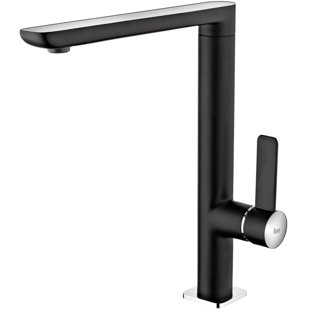 Смеситель Teka Formentera 62915020N для кухни смеситель для кухонной мойки рмс горизонтальный цвет черный sl123bl 004f 25