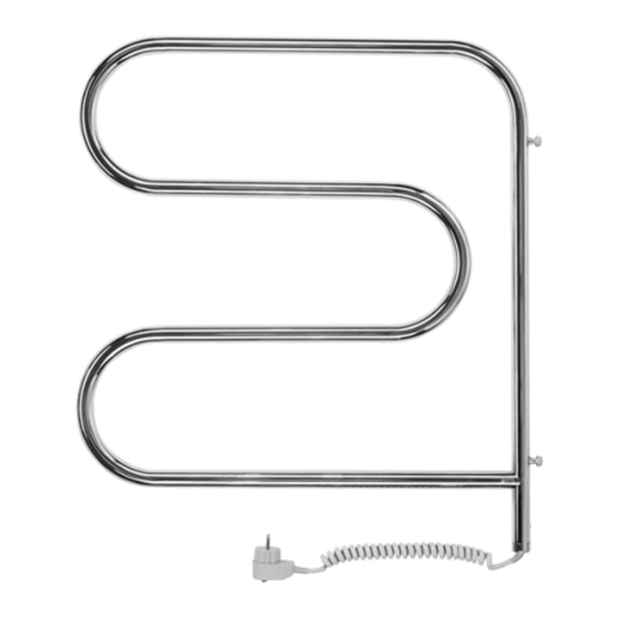 Полотенцесушитель электрический Терминус F-образные-пов 25 ПСЭ f-обр 60х60 электрический полотенцесушитель теплолюкс flora 60х60 бежевый