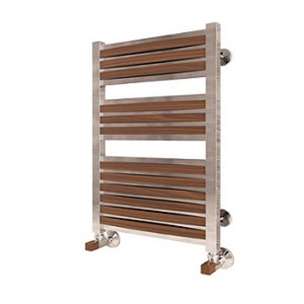 Водяной полотенцесушитель Терминус Римини П15 450 786L деревянные накладоки водяной полотенцесушитель терминус римини п25 500x1276l деревянные накладоки