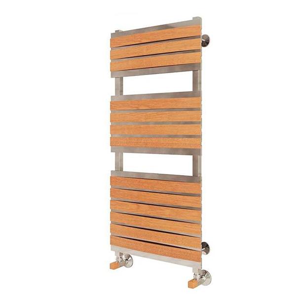Водяной полотенцесушитель Терминус Флоренция П16 500x1240L деревянные накладоки водяной полотенцесушитель терминус римини п25 500x1276l деревянные накладоки