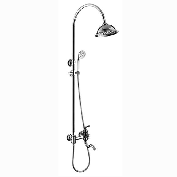 Душевая стойка Timo Adelia SX- 6010/ 00 chrome душевая система timo nelson для ванны хром sx 1290 00 chrome