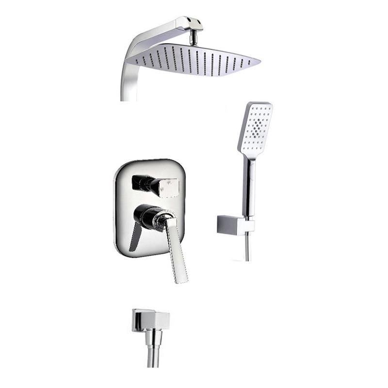 Душевая стойка Timo Halti SX-4100/00 SM chrome душевая система timo nelson для ванны хром sx 1290 00 chrome