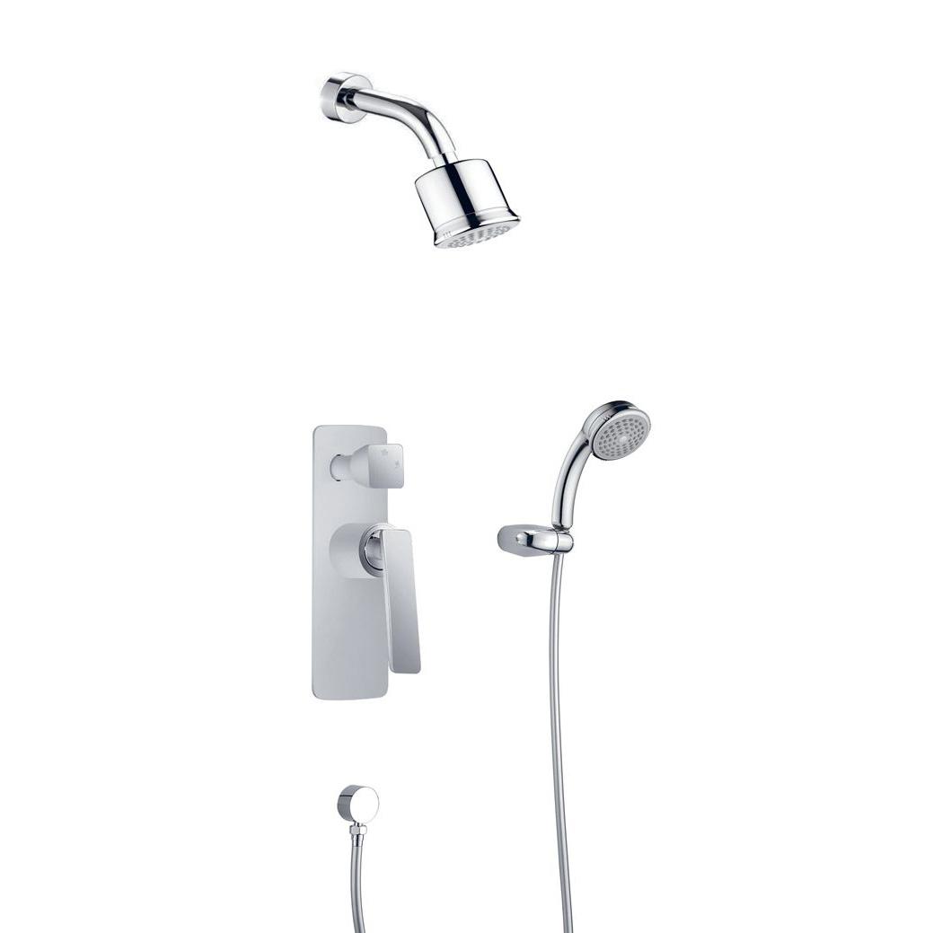 Душевой набор Timo Helmi SX-4059/00-16 SM chrome-white душевая система timo nelson для ванны хром sx 1290 00 chrome