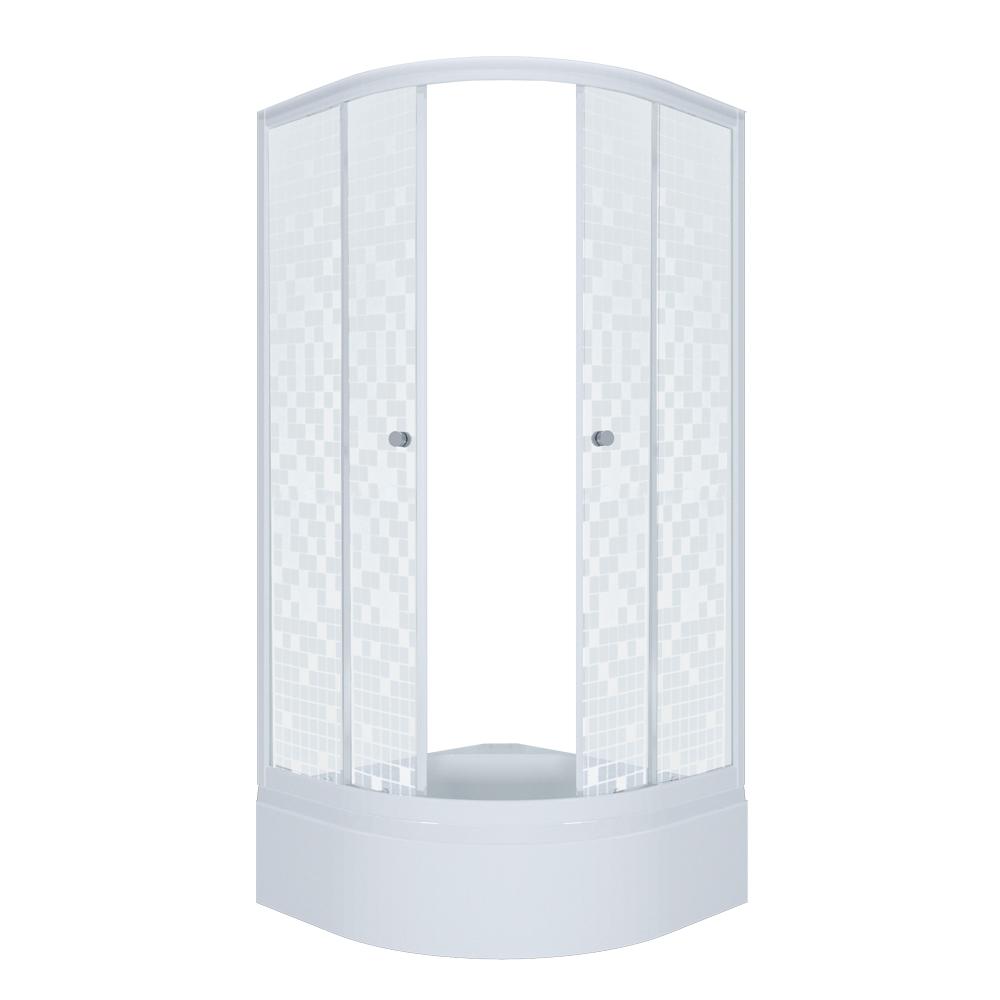 Душевой уголок Тритон Стандарт 100х100 В мозаика с поддоном цена