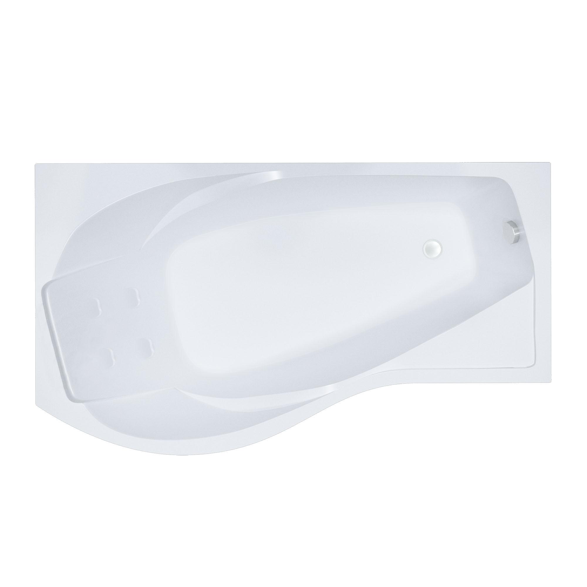 Акриловая ванна Тритон Мишель 180 правая