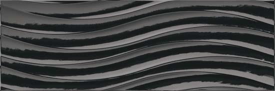 Colorgloss Negro Bend плитка настенная 250х750 мм - 1.5/72 плитка настенная 20 1х50 5 splendida rosa negro черный