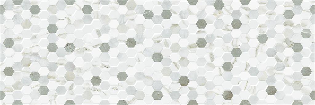 Настенная плитка Undefasa Decorado Royal Gold Gloss Comb 25х75 1к-1,5м(8шт) creative comb